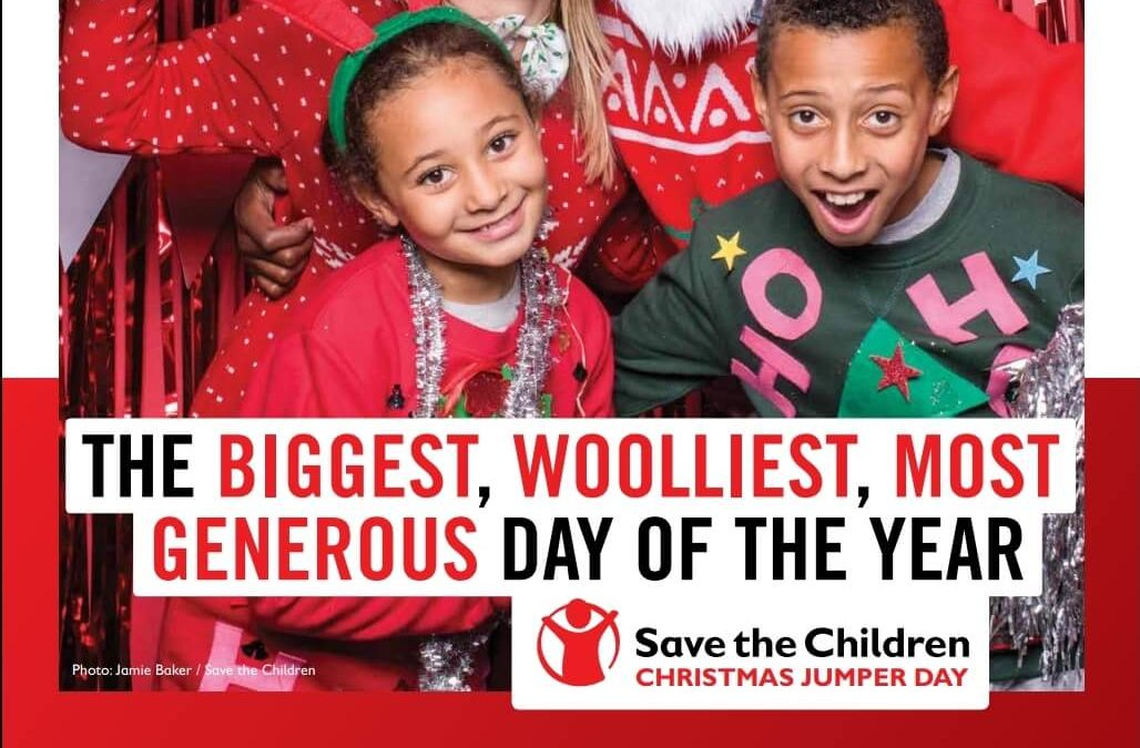 Christmas jumper day for Save the Children